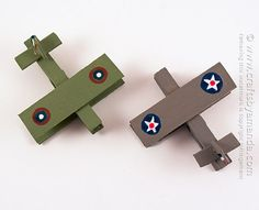 This is a great project for anyone, but especially those parents and grandparents that have served in the military will love making these military planes with their kids or grandkids!