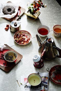 """ღღ Tea is serious business in China, where you're more likely to be served tea than plain water. Here, however,the democratization of the drink has done nothing to diminish its value: You can buy a cup of everyday tea for a few pennies, or, if you're a true connoisseur, one of Da Hong Pao, an oolong tea that can command up to $35,000 per ounce and is considered among the finest in the world. """"China remains the largest tea producer on earth,"""" says Stewart."""