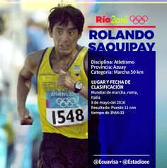 #Deporte #Olímpico #LaMarcha #Olímpica 50 km #JuegosOlímpicos #Río #Bra 2016 Etiqueta #Atletismo en #Twitter