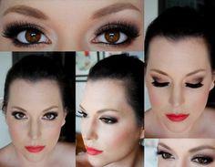 Edgy bronze and deep brown smokey eye tutorial | AmazingMakeups.com