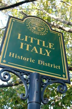 Love this sign for Little Italy in Cleveland. Grandparents and my mom were born and raised in Little Italy NYC. Cleveland Rocks, Cleveland Ohio, Cincinnati, Columbus Ohio, The Places Youll Go, Places To Go, Stuff To Do, Things To Do, A New York Minute