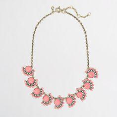 J.Crew Factory - Factory flower fringe necklace