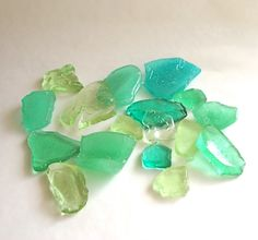 sea glass hard candy - great for beach themed wedding favors!