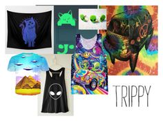 """PSYCHO-delic"" by myinsanebestfriend on Polyvore featuring art"