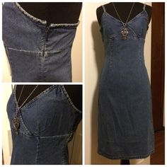 FREE WITH PURCHASE  Old Navy Denim like dress Old Navy Denim like Cotton dress size 2! DO NOT ADD THIS TO BUNDLE! JUST COMMENT BELOW THAT THIS IS WHAT YOU WANT AS A FREE GIFT AND I WILL ADD IT FOR YOU! Old Navy Dresses Midi