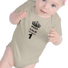 KEEP CALM i'm only 1! T Shirt