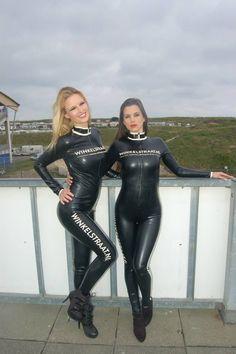 latex pit girls