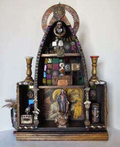 Cindy La Ferle's Mixed Media : Art and soul, saints and shrines