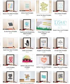 20 Free Bible Verse Printables (from CMD) | best stuff