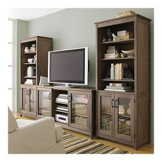 I am not crazy about the wood, but the fact that it is composed of separate parts makes is so functional.