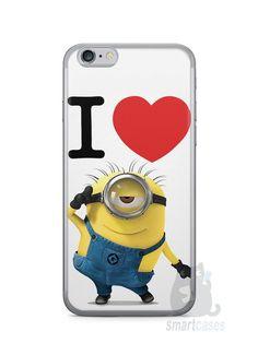 Capa Iphone 6/S I Love Minions - SmartCases - Acessórios para celulares e tablets :)