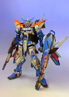 MG 1/100 Gundam Astray Blue Frame 2nd Revise - Customized Build