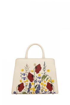 Aigner Damen Handtasche Cybill Fiorellina XS Natur Weiss | SAILERstyle Straw Bag, Bags, Fashion, Trendy Shoes, Shoulder, Handbags, Nature, Leather, Moda