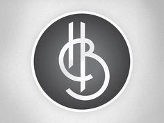 BH monogram tattoo idea for brad Monogram Tattoo, Monogram Design, Monogram Letters, Lettering Design, B Letter Design, Logo Design Liebe, Hotel Logo, Farm Logo, H Logos