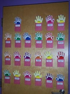 This is a fun way for kids to sign in for school :)