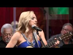 This is almost like the great classic country .  Love her audience.  Beneath Still Waters / Rhonda Vincent