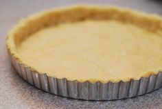 ****How to make tart crust from scratch: slightly sweet and flaky******