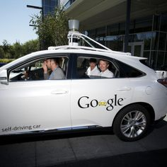 Crown Prince Frederik becomes first Dane to ride in Google's self-driving car