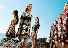 Valentino's Magical S/S 2015 Campaign // Photo by: Michal Pudelka
