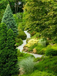 Compton Acres, Dorset, England by *M. Love Garden, Dream Garden, Garden Deco, Compton Acres, Landscape Design, Garden Design, Dorset England, British Garden, Woodland Garden