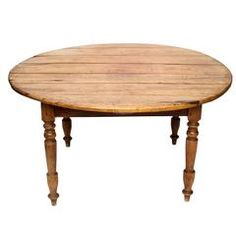 19th Century Cherrywood Round Dining Table