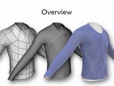 the future of knitting: Stitch Meshes for Modeling Knitted Clothing with Yarn-level Detail - SIGGRAPH 2012 Zbrush, Knit World, Blender Tutorial, Knitting Videos, Wearable Technology, Cool Animations, Knit Mittens, Future Fashion, Tutorials