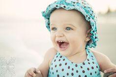 Baby teeth! Baby beach photography.