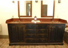 Bathroom Vanity By: The Workshop of David T. Smith