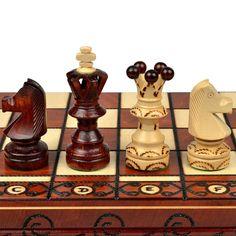 """Ambassador European International Chess Set - 21.7"""""""