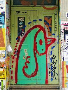 graffiti doors