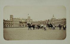Nicholas , Empress Marie , Maria Pavlovna - Gatchina - 1897