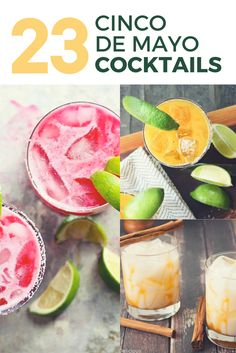 23 Cinco de Mayo Cocktail Recipes to Get The Party Started | the INSPIRED home