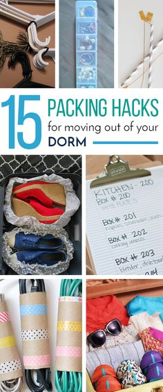 15 Packing Hacks For Moving Out Of Your Dorm