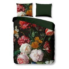 Floral Bedding, Green Velvet, Decoration, Comforters, Blanket, Bedroom, Furniture, Design, Home Decor