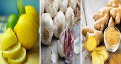 Bastano 3 semplici ingredienti per stare bene! Metti a bollire dei limoni, aglio e zenzero poi bevilo 3 volte al giorno ed eccone i sorprendenti risultati!
