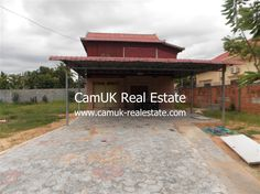 $1,000 Per month - Wooden part house for rent is situated in Svay Dangkum commune, Siem Reap town…