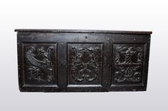 Marhamchurch antiques Henry VIII chest