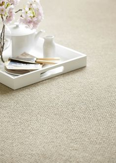 Light beige carpet by Cormar Carpets - available from Rodgers of York #carpet #interiors