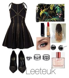 """""""ту"""" by taeyan-park on Polyvore featuring Casadei, Gucci, Chanel, Zoella Beauty and LULUS"""