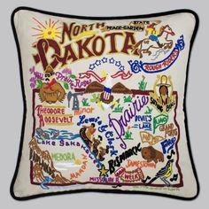 North Dakota State Pillow