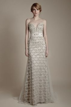 25 Dazzling Art Deco Wedding Gowns