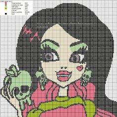 Monster High Cross Stitch Patterns
