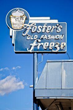 Foster's Old Fashion Freeze  | #retro #vintage