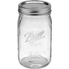Ball 12-Count, Wide Mouth, Quart Jars w/ Lids & Bands, $15 @ Wal-Mart.