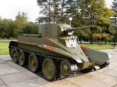 "mod 1933 'Soviet light Tank at Museum of ""Nevsky heel"",Russia Patton Tank, Tank Armor, Armored Fighting Vehicle, Ww2 Tanks, Military Equipment, Panzer, Armored Vehicles, War Machine, Military History"