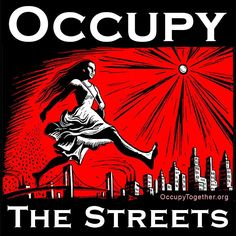 Link Ink: Occupy Wall Street Art, 'Costoberfest' And George Clooney Reflects On 'Batman & Robin' Protest Art, Street Art, Wall Street, Fine Art Prints, Google, Posters, Social Justice, Political Art, Amor