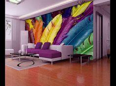 Top wallpaper for living room walls - 30 images transform the interior 3d Wallpaper Designs For Walls, 3d Wallpaper Living Room, Wall Art Wallpaper, Wallpaper Wallpapers, Latest Wallpaper, Textured Wall Panels, Decorative Wall Panels, 3d Wall Decor, 3d Wall Murals