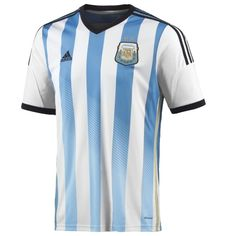 961fc9f21ee adidas Argentina 2013-14 Official Home Soccer Jersey - model G74569  Argentina Soccer