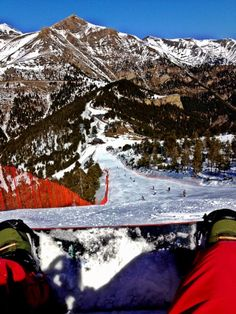 Pista vermella a Vallnord (Andorra)