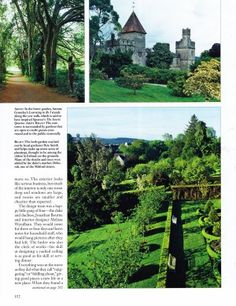 Yew Walk, East Tower Gardens and Herb Garden at Lismore Castle